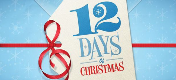12 days of christmas iTunes header The iTunes 12 Days of Christmas Starts Today