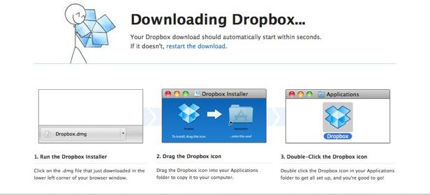 Dropbox installing PC desktop