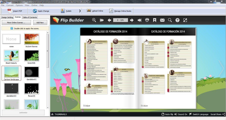 Flip builder