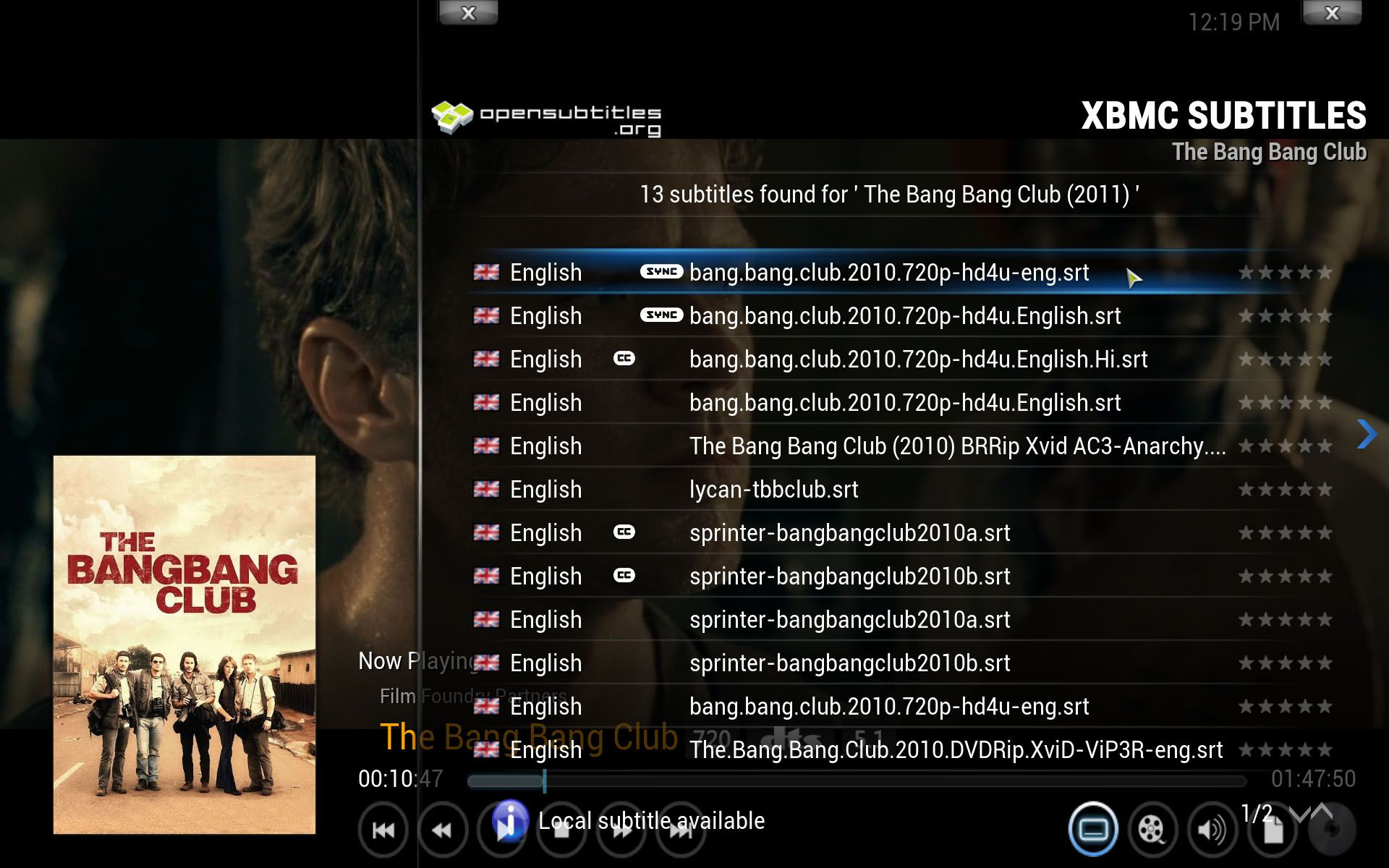 Add On Xbmc Subtitles