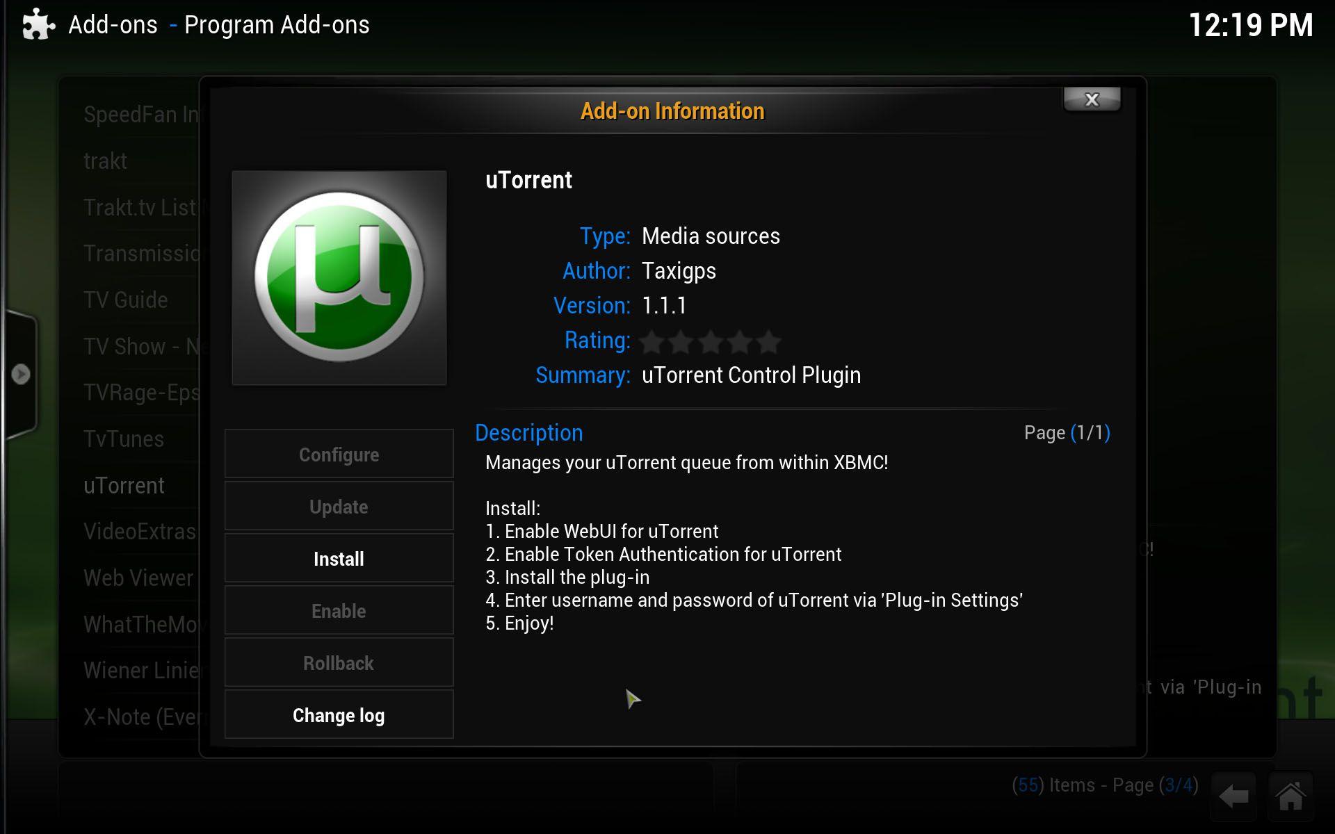 XBMC-utorrent-EN