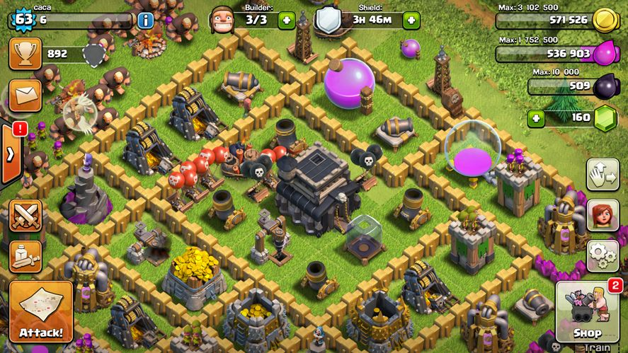 clash of clans en