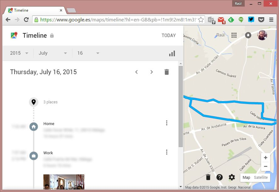 How To Consult Your Location History On Google Maps - Google map location history