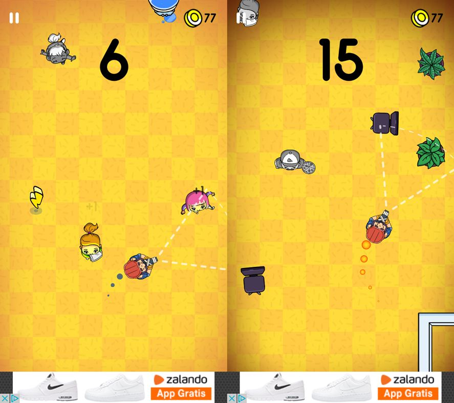 Mannequin Challenge screenshot Five Android games based on viral videos