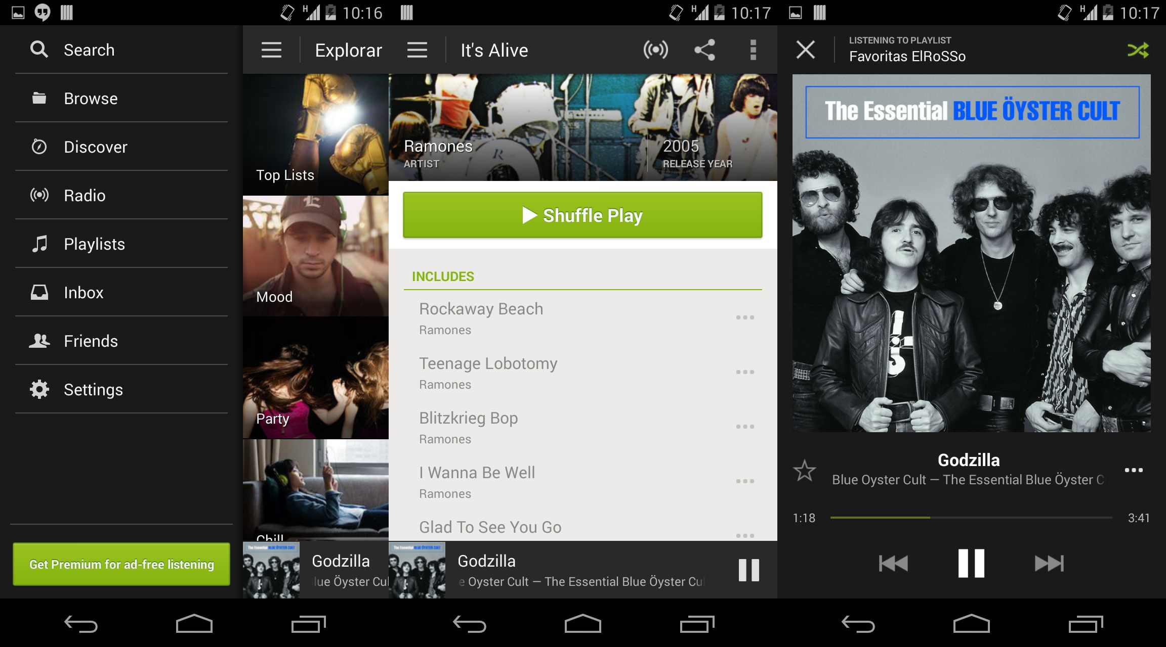 how to get spotify for free android