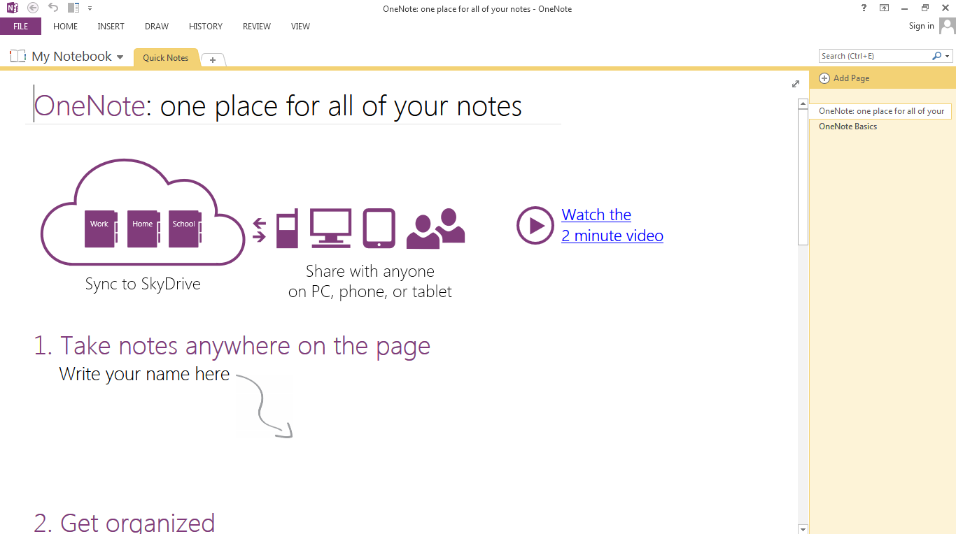 WatFile.com Download Free OneNote to offer its premium features for free