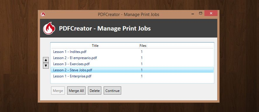 merge several pdf files into one document