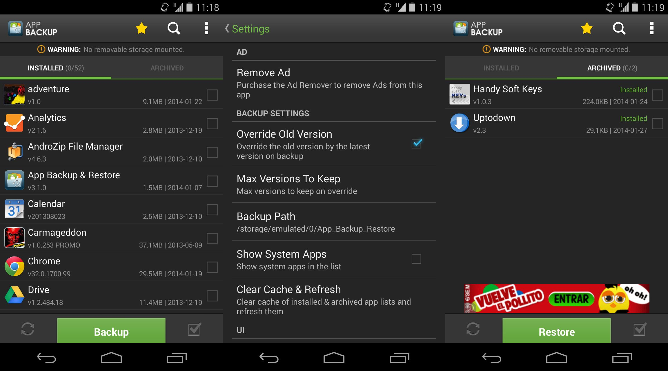 How to make APK backup copies of your Android apps