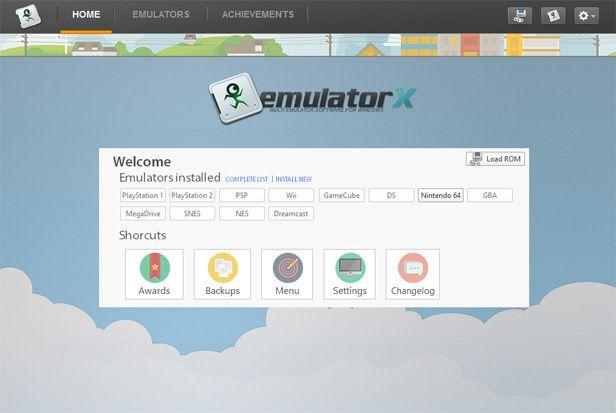 Emulatorx, a spiffed-up emulator manager for Windows