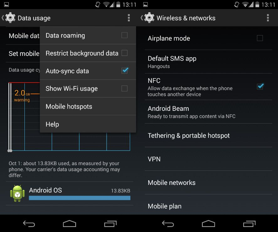 How to share your Android mobile data plan