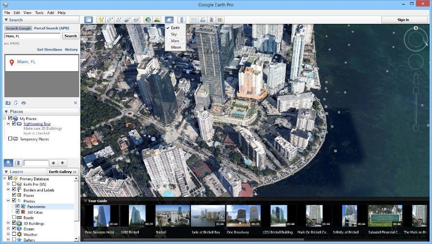 Google Earth Pro now free