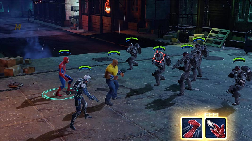 The best Android games from the Marvel Universe