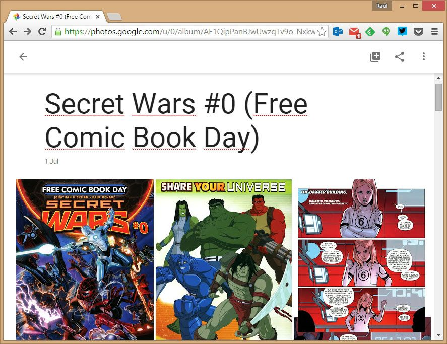 How to use Google Photos to read comics
