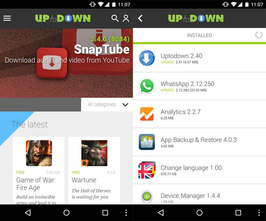 Lighter alternatives to Android's default apps