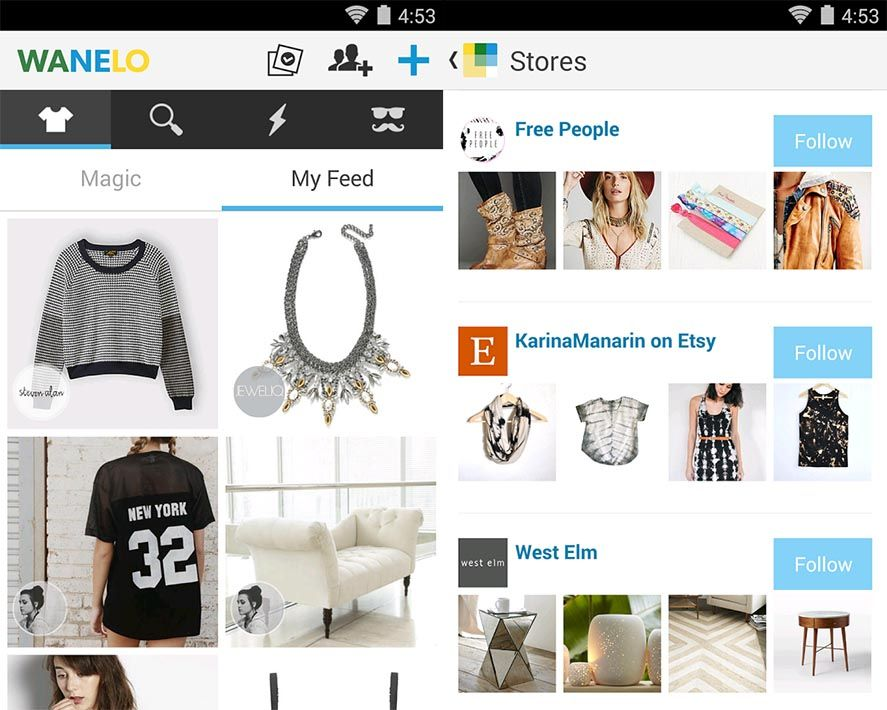 moms day wanelo 1 5 Android Apps for Mother's Day