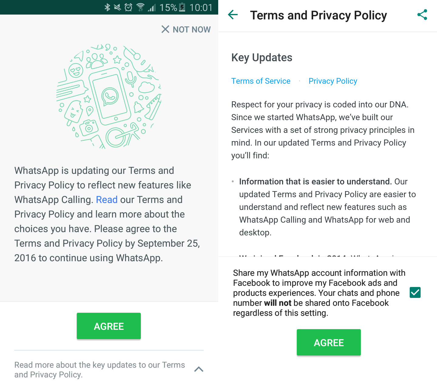 How to keep your WhatsApp info off Facebook