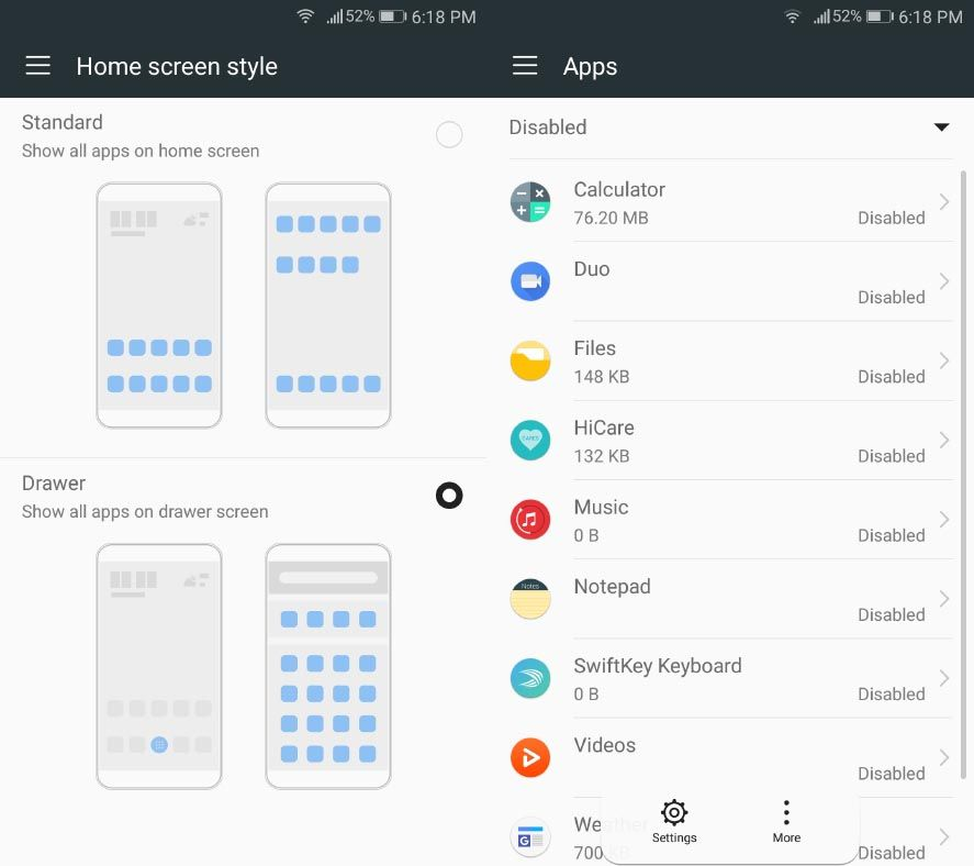 How to simulate stock Android on Huawei devices with an EMUI