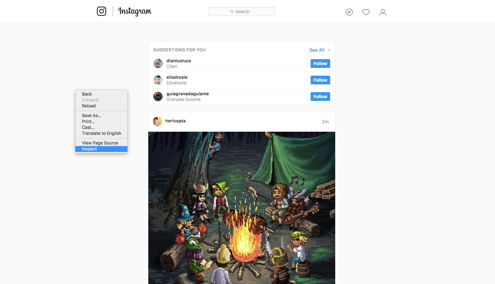 Instagram from pc How to post pictures on Instagram from any PC