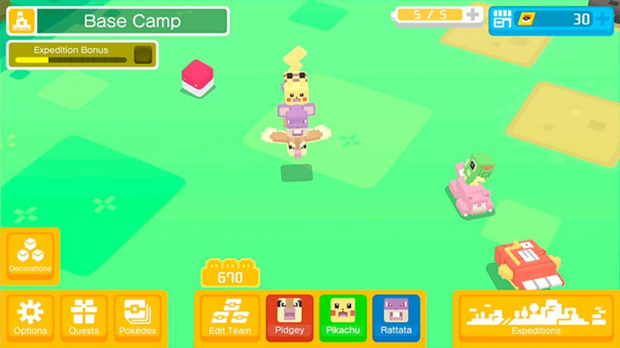 Pokemon Quest screenshot 1 These are all the official Pokemon games for Android