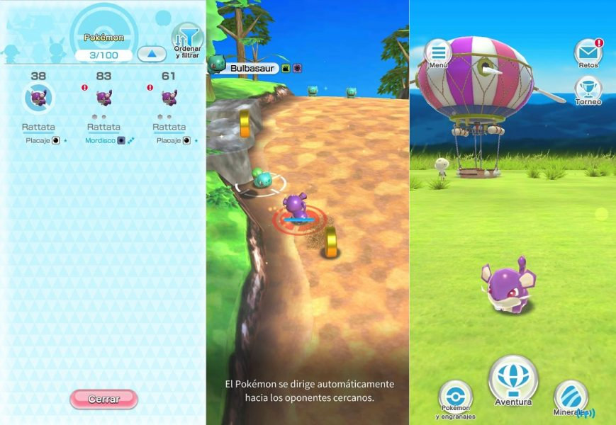Pokemon Rumble Rush These are all the official Pokemon games for Android