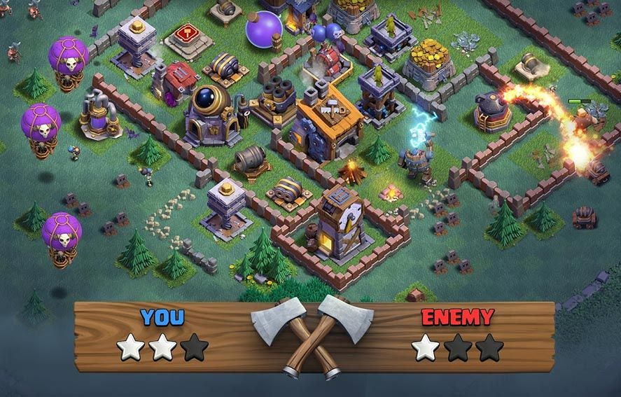 clash of clans en screenshot 2 Clash of Clans gets an update with more new features than ever