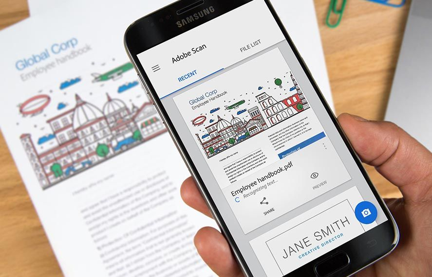 Adobe releases a document scanning tool for Android
