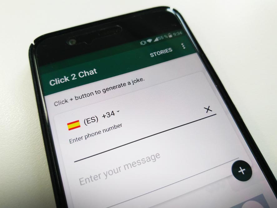 how to add unknown number on whatsapp