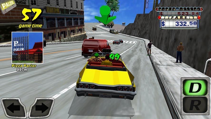the classic crazy taxi is now free on android. Black Bedroom Furniture Sets. Home Design Ideas