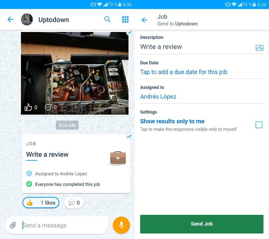 kaizala screenshot 1 Microsoft Kaizala, una fantástica aplicación para la gestión de proyectos