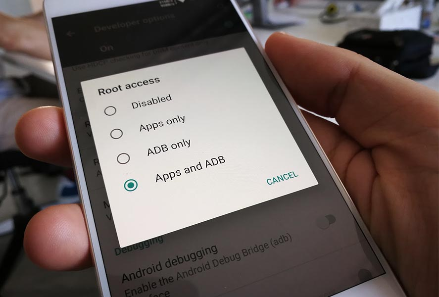 How to hide the root permissions on your Android device
