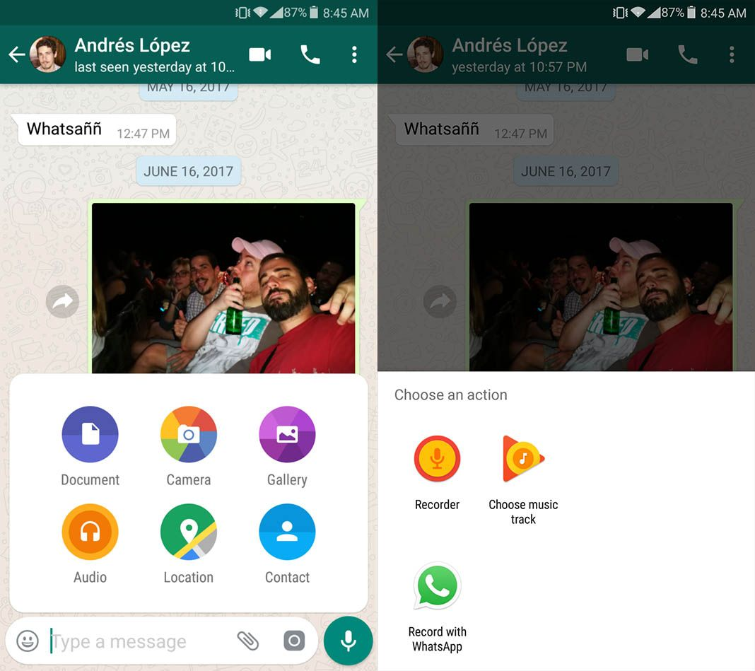 whatsapp audio send en 1 How to record WhatsApp voice messages without holding down the mic button