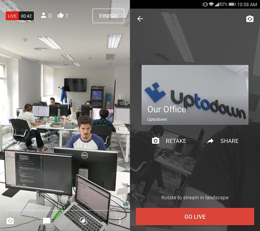 Now any YouTube user can broadcast live video