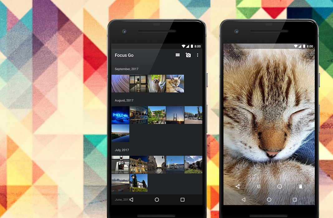 Focus Go: one of the simplest and most lightweight gallery