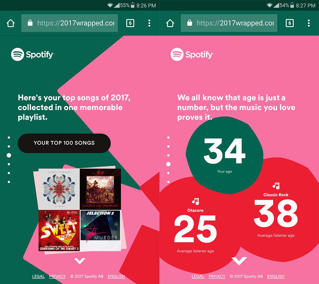 discover your most listened to songs of 2017 on spotify