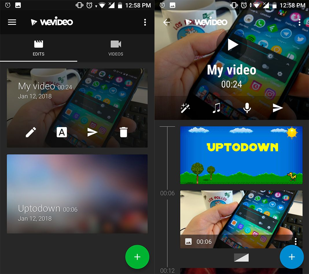 wevideo screenshot 1 en WeVideo makes creating and editing your own videos a breeze