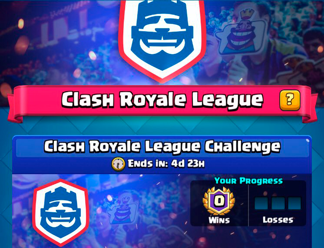 clash royale league screenshot en Become a professional Clash Royale player with their latest challenge