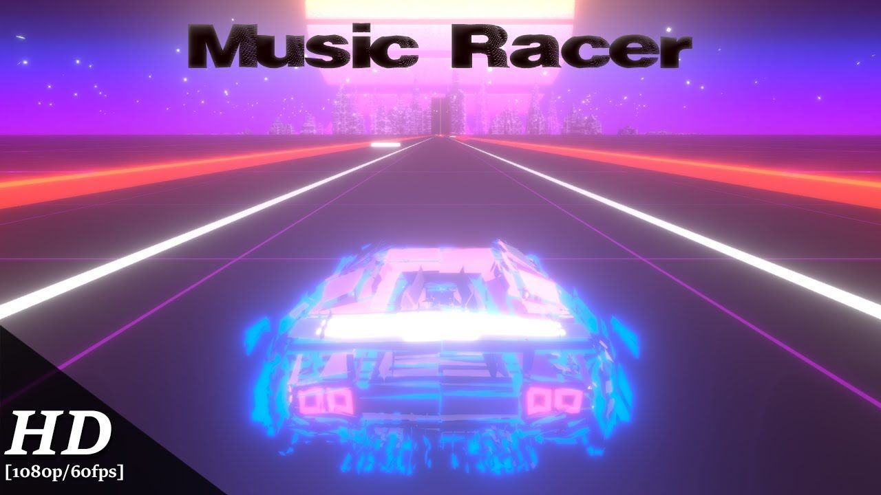 Music Racer is a game you play using the songs on your smartphone