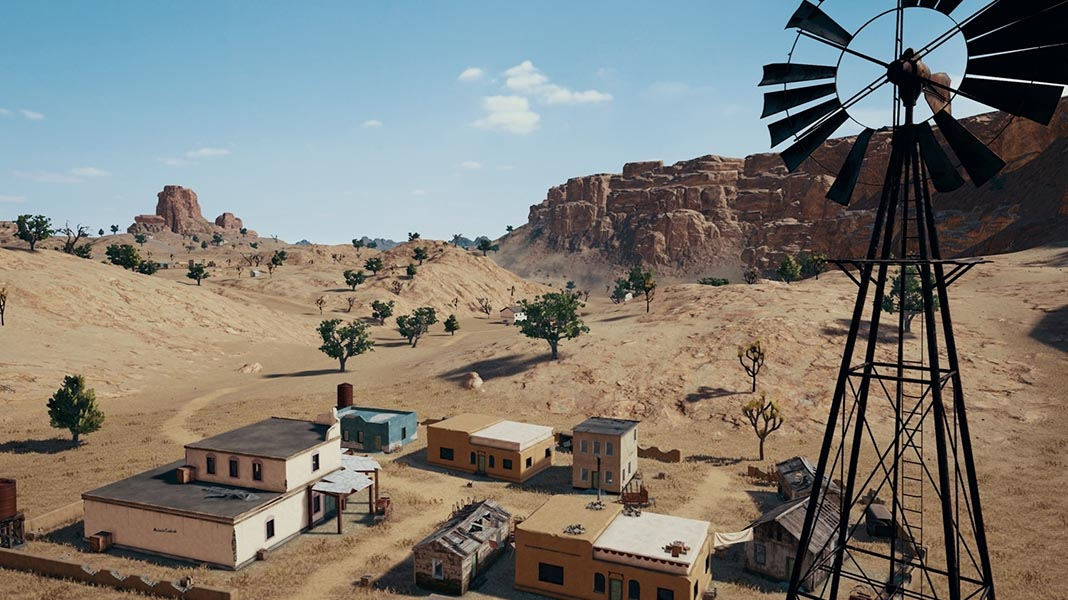 PUBG Mobile Receives The New Miramar Desert Map
