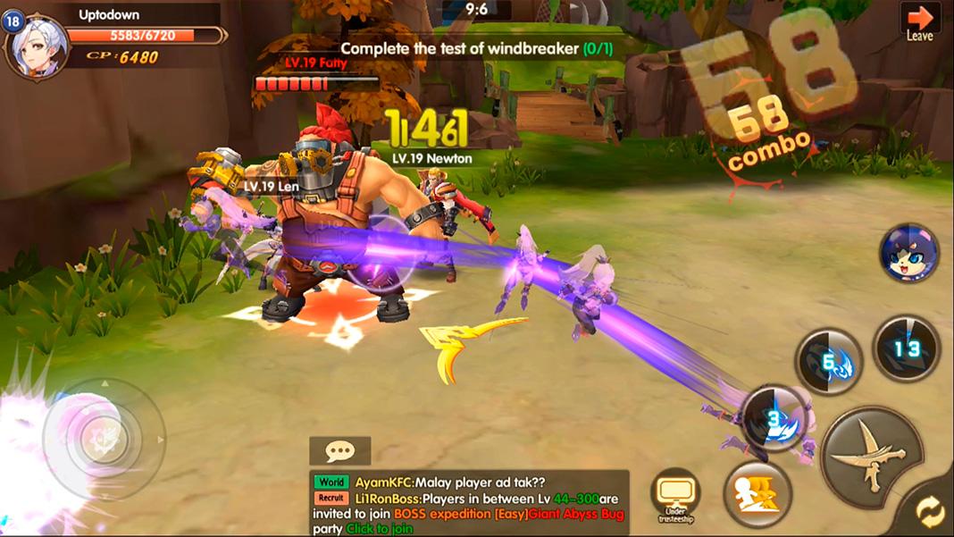 Blade & Wings screenshot best MMORPG Android