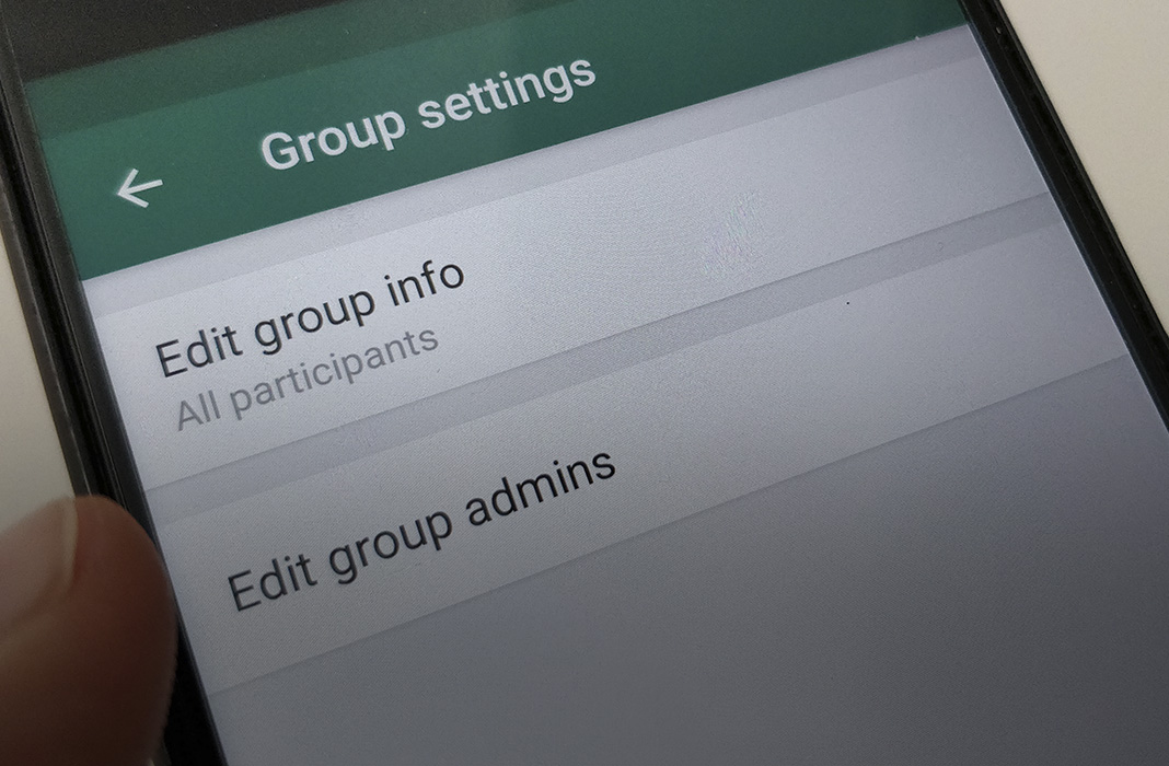 group admin featured WhatsApp now lets you choose multiple group admins