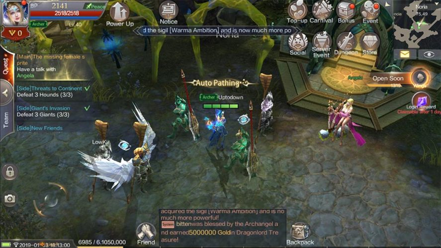 The top 10 MMORPGs available on Android