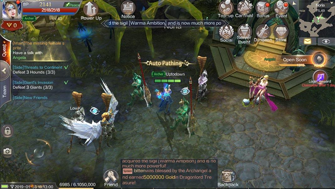MU Origin 2 screenshot best MMORPG Android