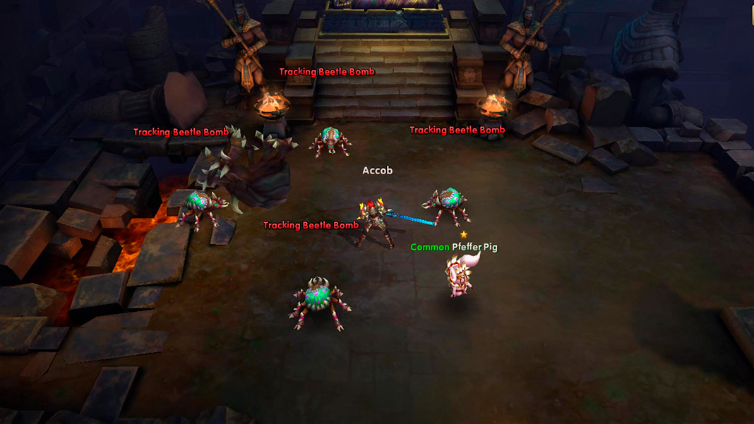 Rise of Ragnarok screenshot best MMORPG Android