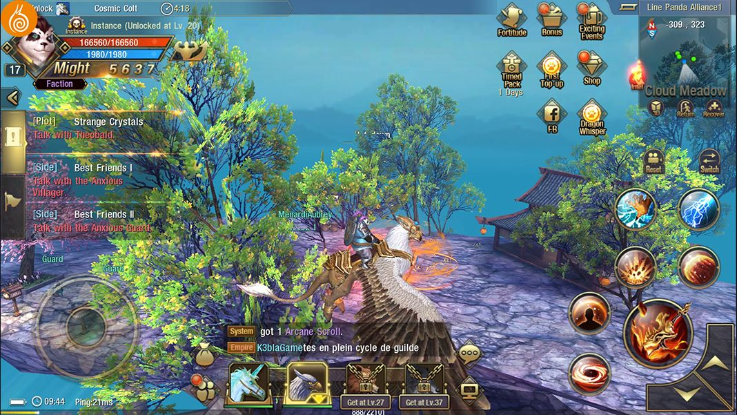 Taichi Panda 3 screenshot best MMORPG Android