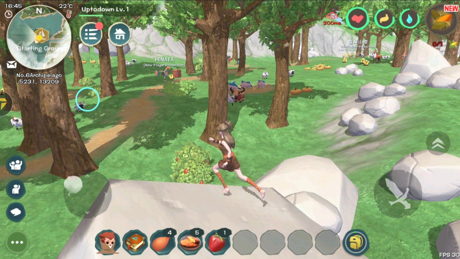 Utopia Origin screenshot best MMORPG Android