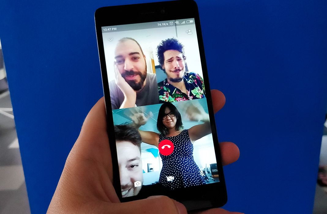 Group voice and video calls are now possible on WhatsApp