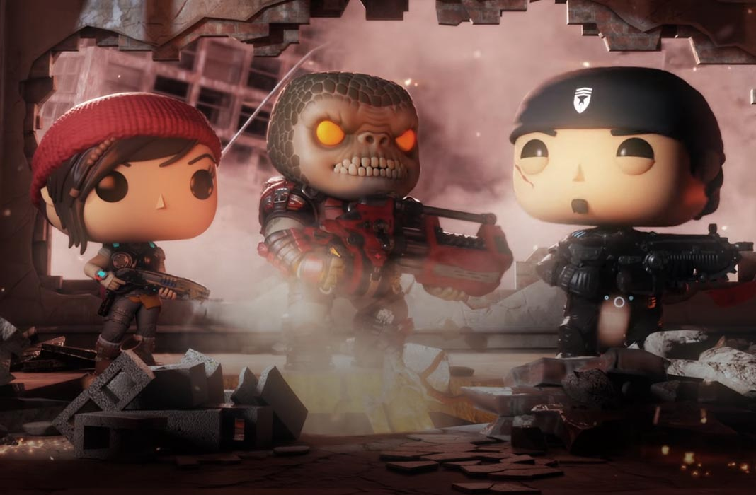gears of war is coming to android    with a funko pop style