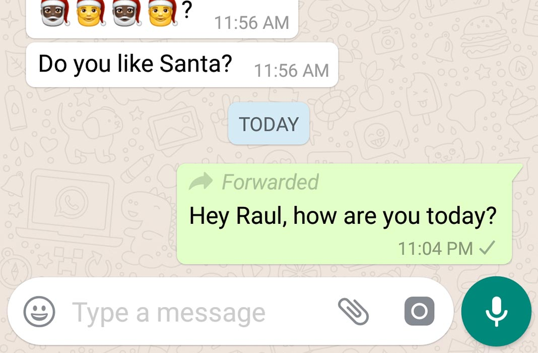 whatsapp forwarded en WhatsApp aims to fight spam by limiting forwarded messages