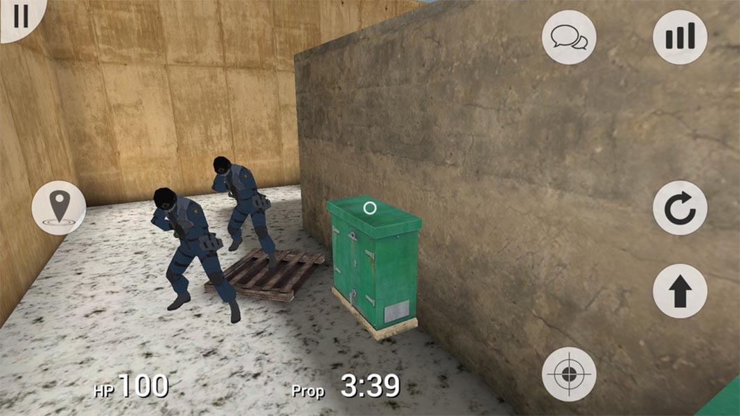 prop hunt mobile Prop Hunt for Android: show off your camouflage skills in these wacky games