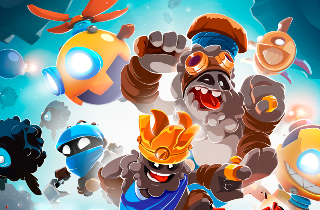 Badland Brawl apk android, pc et ios